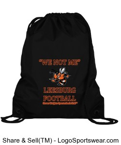 """WE NOT ME"" Sport Pack, Leesburg Yellow Jackets Football Design Zoom"